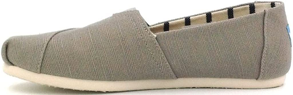 #Toms Classic Morning Dove Heritage Canvas Womens Espadrilles Shoes