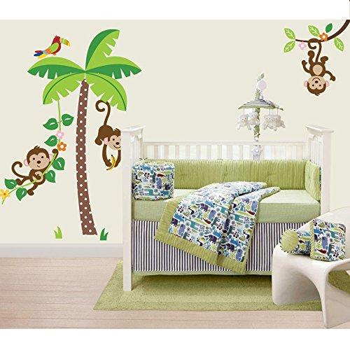 CherryCreek Jungle Monkeys Giant Peel and Stick Wall Sticker Decals