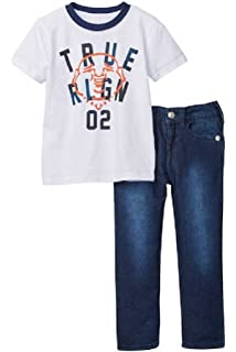 2cabf8e7d Amazon.com: True Religion Baby and Toddler Boy's Hoodie & Sweatpants ...