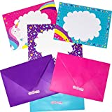GirlZone: Unicorn Letter Writing Set for