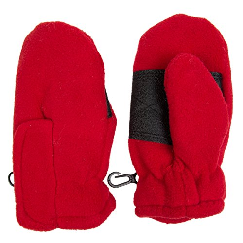 Toddler Fleece Insulated Mittens Velcro