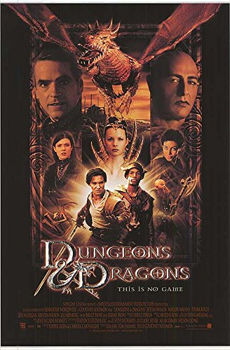 Dungeons and Dragons - Authentic Original 27' x 41' Movie Poster
