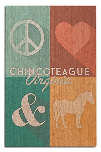 Chincoteague, Virginia - Peace, Love and Ponies
