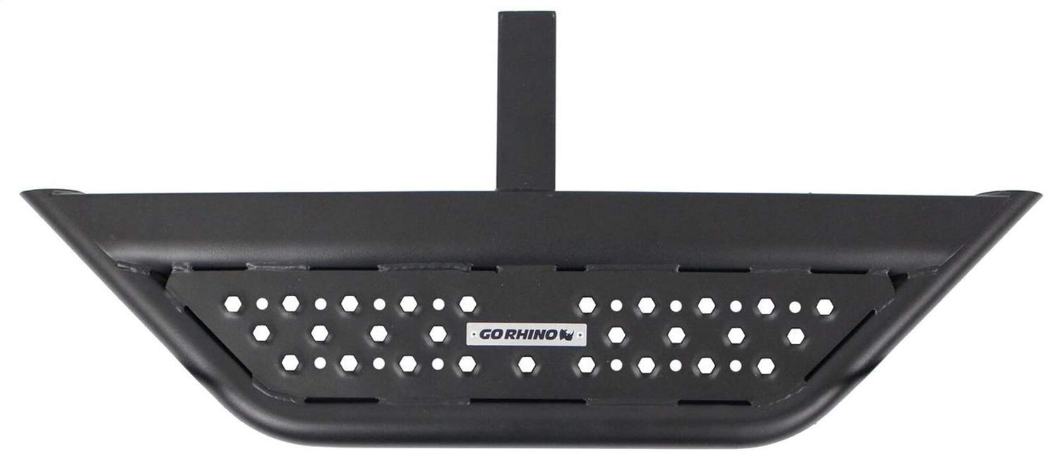 Go Rhino! D6360T Textured Black Hitch Step