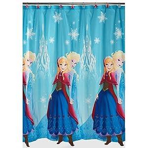 Disney Frozen Bathroom Bundle Shower Curtain U0026 Hooks