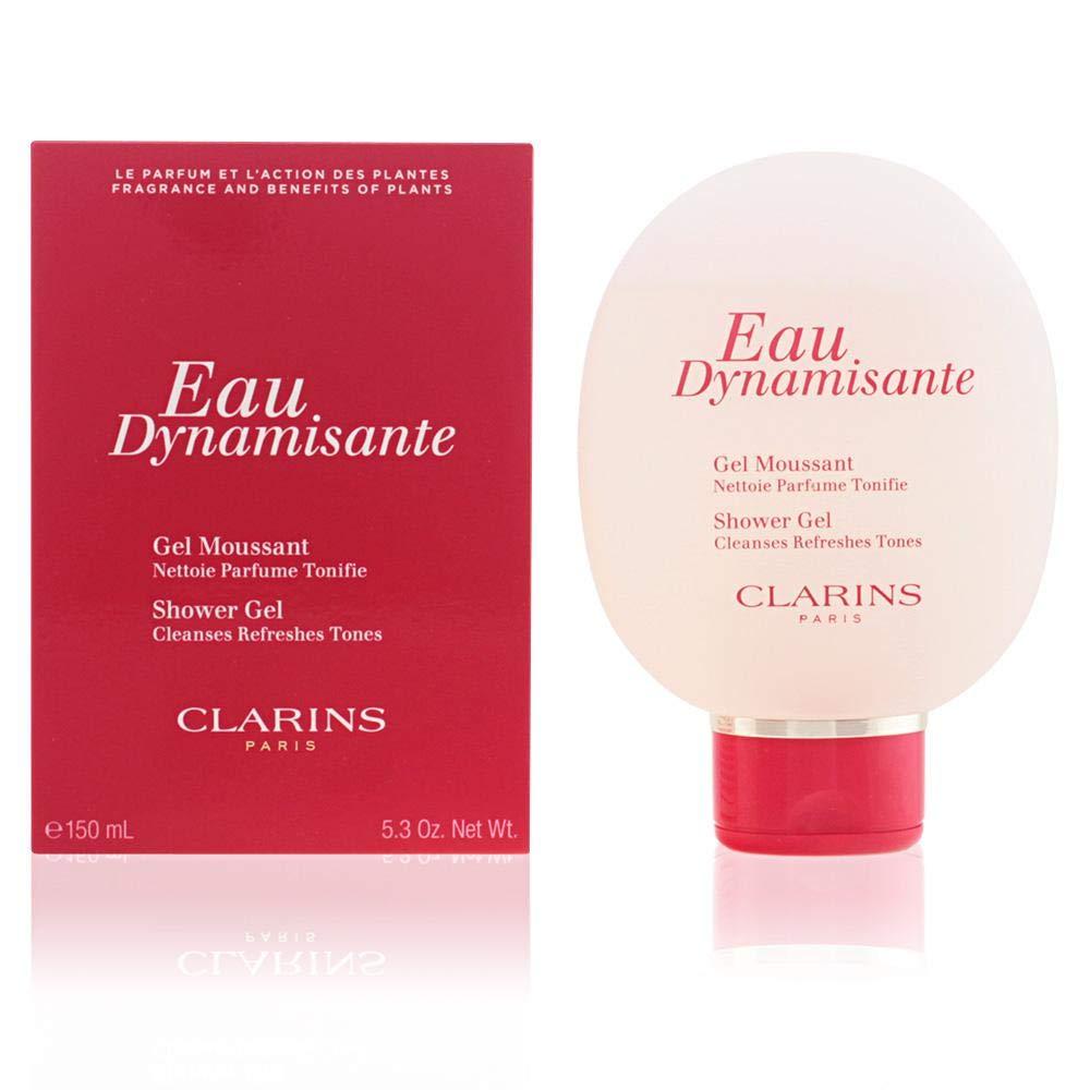 Clarins Eau Dynamisante Shower Gel for Unisex, 5.3 Ounce