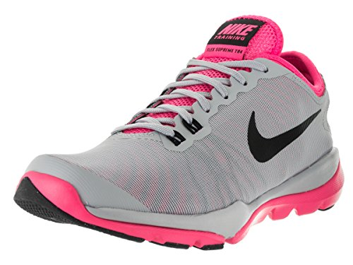 Nike Wmns Flex Supreme Tr 4, Baskets Basses Femme Gris