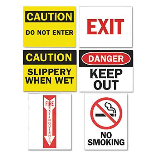 Stickers non rip 76 x 51mm Electrical labels Warning Circuits Labels