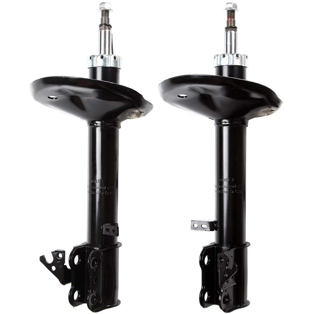 ECCPP Shocks Front Pair Shock Struts Absorbers Kit Compatible with 1996 1997 1998 1999 2000 Toyota RAV4 334252 72127 334251 72126