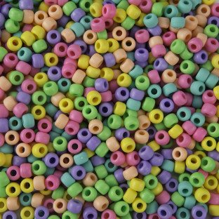 Bead Mix Matte - Pastel Matte Pony Bead Mix
