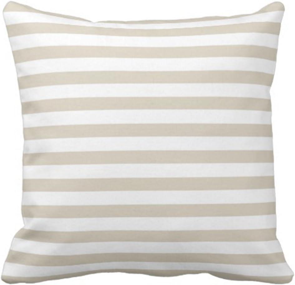 Emvency Throw Pillow Cover Modern Tan