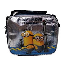 """Despicable Me 2 Minions """"Don't Move a Muscle"""" Insulated Lunch Bag Box"""