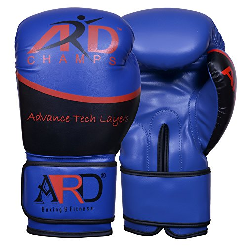 ARD Art Leather Boxing Gloves Fight Punching MMA Muay Thai Kickboxing