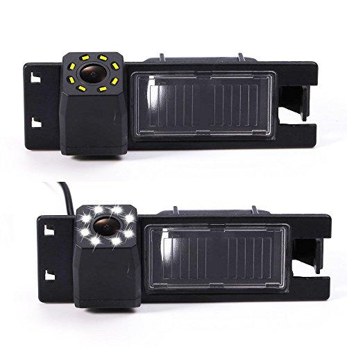 Dynavsal auto achteruitrijcamera verbeterde parkeerhulp met 8IR nachtzicht 170 ° groothoek waterdicht high definition…