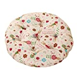 Country Style Home/Office Round Chair Cushion Floor Cushion Pillow Seat Pad, No.11