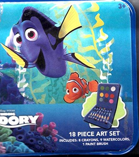 Disney Finding Dory 18 Piece Art Case ()