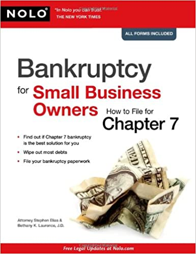 The Small Business Owners Guide to Bankruptcy