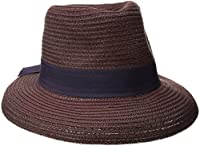Physician Endorsed Women's Avanti Packable Fedora Sun Hat with Memory Wire, Rated UPF 30 for UV Protection, Plum, One Size
