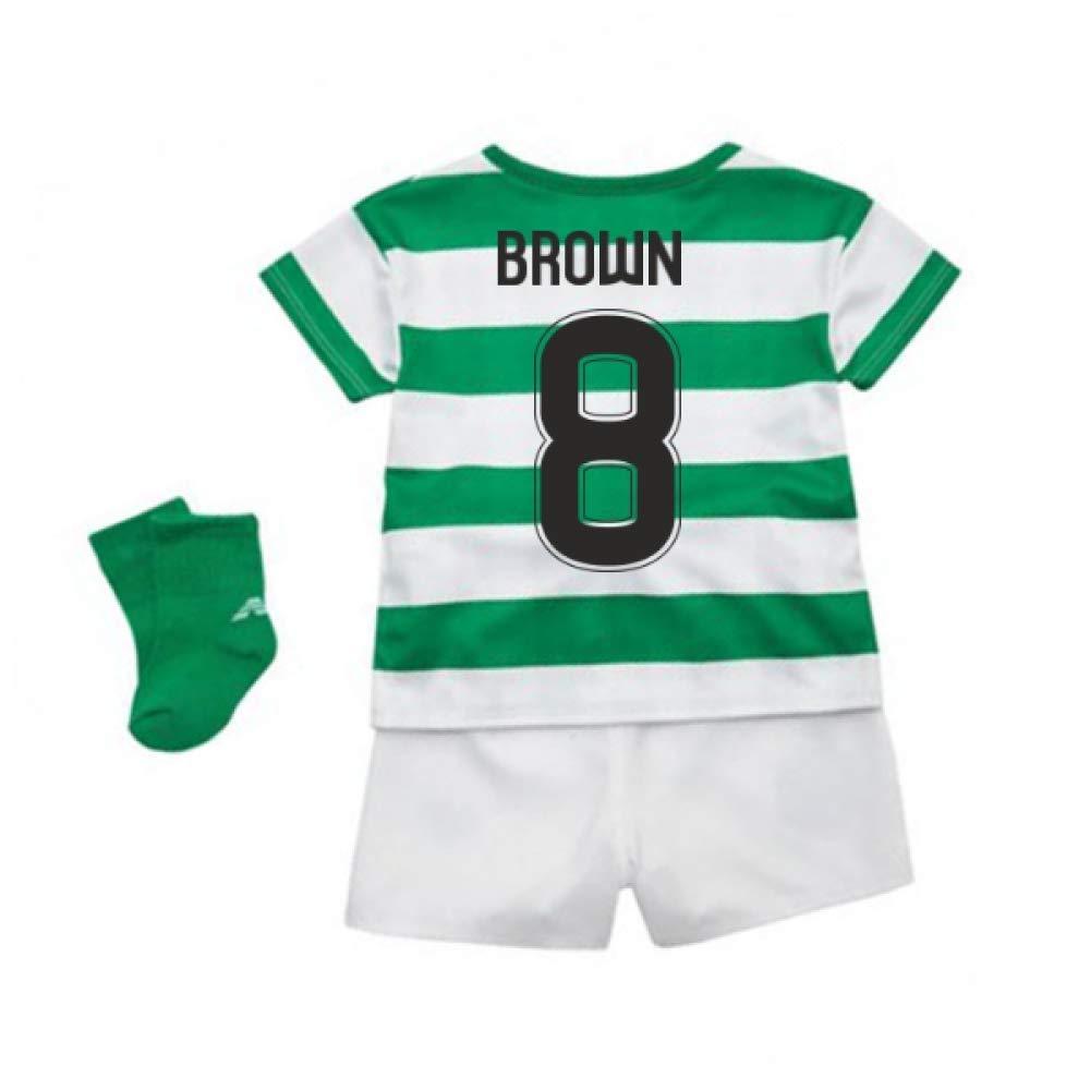 UKSoccershop 2018-2019 Celtic Home Baby Kit (Scott Braun 8)