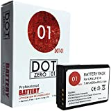 DOT-01 Brand Canon EOS Rebel T7 Battery for Canon EOS Rebel T7 DSLR and Canon T7 Battery Bundle for Canon LPE10 LP-E10