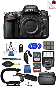 Nikon D610 24.3 MP FX Format DSLR Camera ( Body Only) 1540 (USA) - Full Accessory Bundle Package Deal