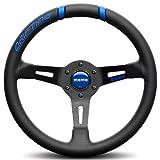 Momo DRF33BK1B Drifting Blue 330 mm Leather Steering Wheel