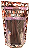 Natural Gourmet Beef Recipe Rolls Dog Treat, Made in USA, 10oz Pouch Review