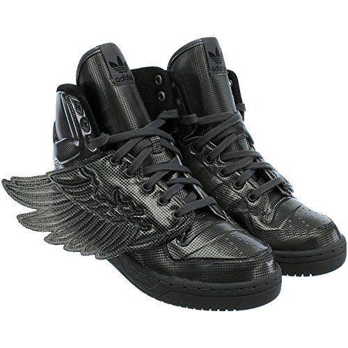 adidas Unisex-Erwachsene JS Wings Molded Black/Black/Black