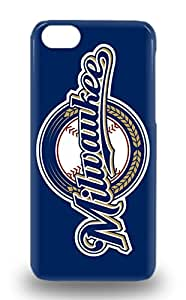 Premium MLB Milwaukee Brewers Heavy Duty Protection Case For Iphone 5c