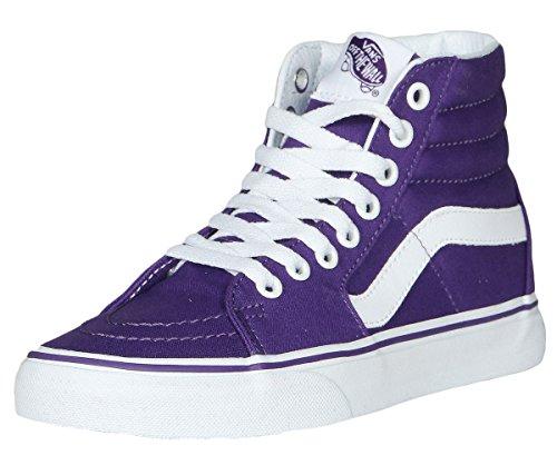 Vans Unisex Sk8-Hi Slim Damen Skateschuh Leinwand (Imperial Purple)