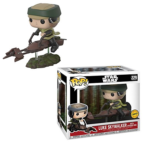 Funko Star Wars Luke on Speeder Bike Pop Vinyl Figure (Chase)