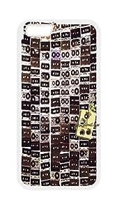 Audio cassette Pattern Hardback Case for iPhone6 Plus 5.5,Audio cassette case,iPhone6 Plus 5.5 phones case.