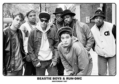 Beastie Boys & RUN-DMC Poster - Amsterdam 1987 (33