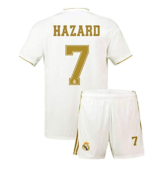 Amazon.com: Sulnasport Real Madrid 2019-2020 Home 7 ...