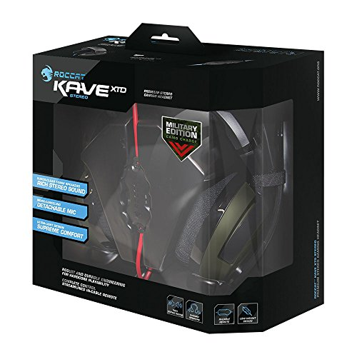ROCCAT KAVE XTD Stereo Military Edition Premium Gaming Headset, Camo Charge by ROCCAT (Image #1)