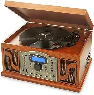 Ricatech RMC250 Deluxe 7 en 1 Music Center con, Compatibilidad ...