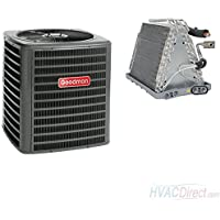 GOODMAN AIR CONDITIONER 4 TON 14 SEER WITH VERTICAL 24.5 UNCASED COIL (CONDENSER & UNCASED COIL) - GSX140481 / CAUF4961D6
