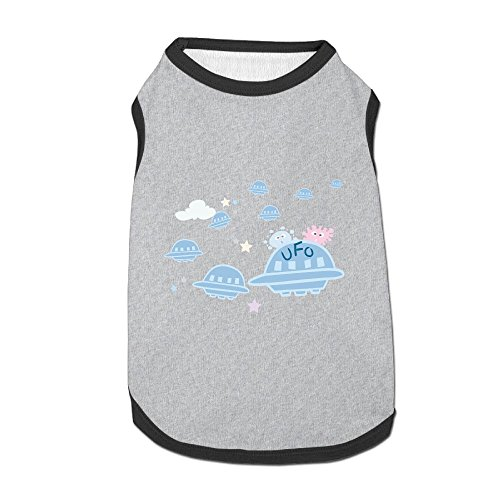 (Jmirelife Pet Shirts Unidentified Spaceship Lovely Pet Dog Puppy Polo T-Shirt Clothes )