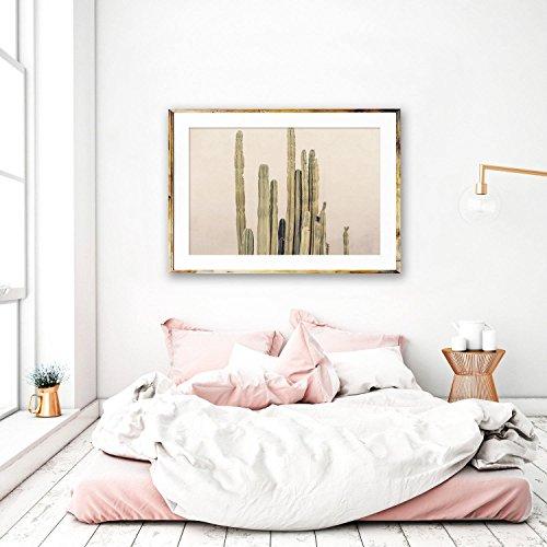 Modern Cactus Print, Palm Springs Photography, Neutral Desert Decor, Southwest Decor - ''Sharp Around the Edges'' by ColorPopPhotoShop