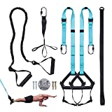 Futureup Bodyweight Fitness Resistance Trainer Kit Extension Strap, Complete Training Straps Kit for Full Body Strength, Easy Quick Setup for Gym Home Equipment Gym Full-Body Travel Outdoors Workouts