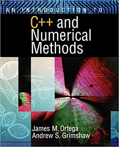 Book c++ programming with numerical methods