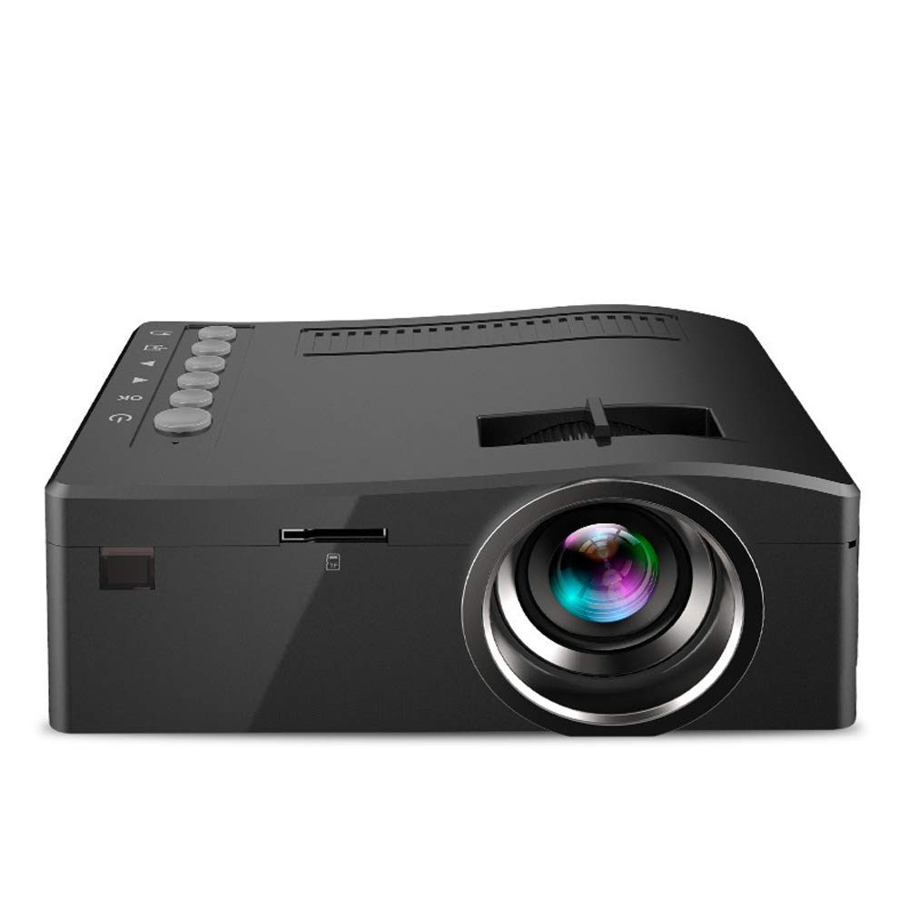 Mini Mini Portable Projector Home Projector-Black by HBOY