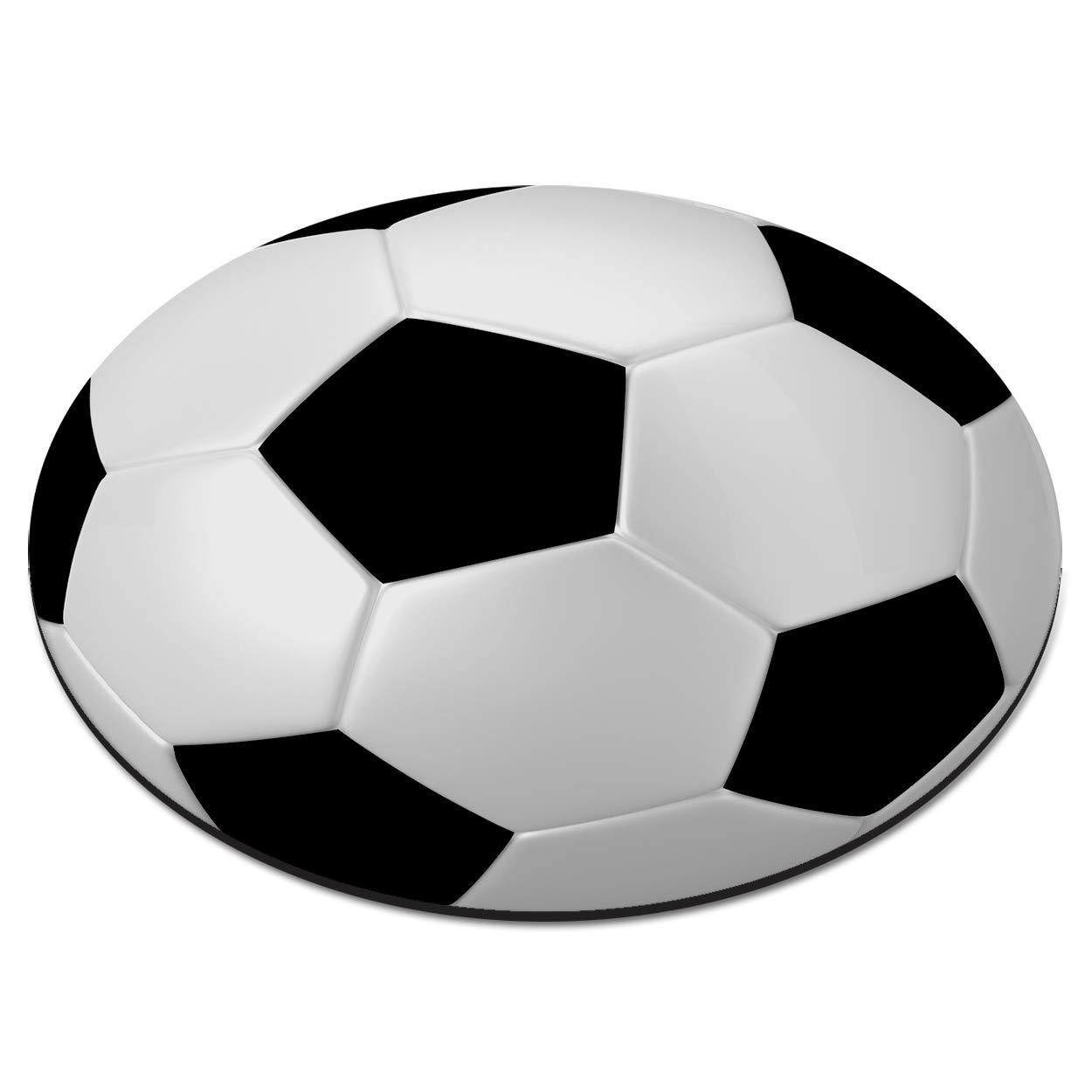Balón Fútbol Circulares Alfombra Ratón Ordenador PC: Amazon.es: Hogar