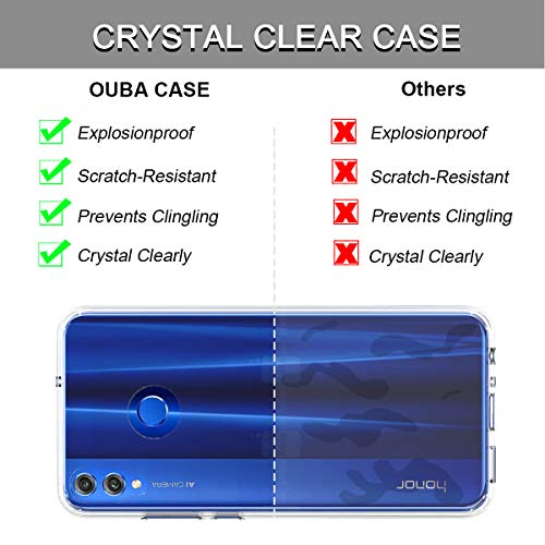 Huawei Honor 8X Case, OUBA [Shock Absorbing] Air Hybrid Slim