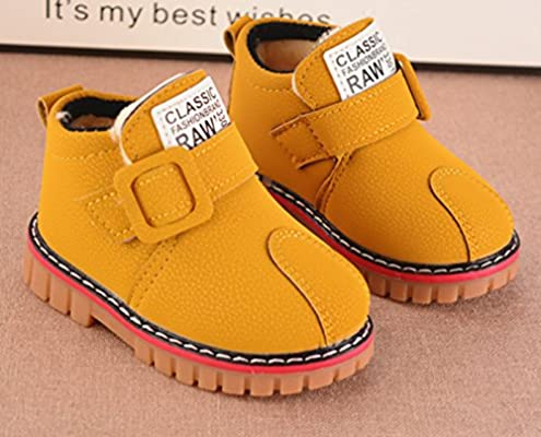 Baby Boots Girl Boy Shoes Rain Hiking Winter Snow Boots Vintage Snow Boots