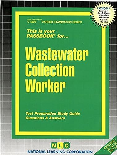 Wastewater Collection Worker (Passbooks): Passbooks: 9780837348063