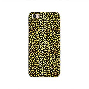 Cover It Up - Gold Black Pebbles Mosaic V5 Plus Hard Case