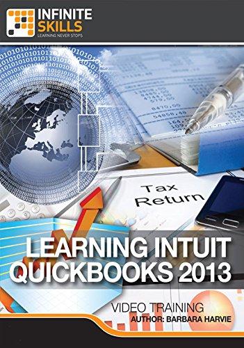 Learning QuickBooks 2013 [Online Code] by Infiniteskills