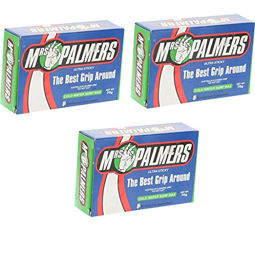 MRS. PALMERS SURF WAX COLD 3 PACK (Surf Palmers Mrs Wax)