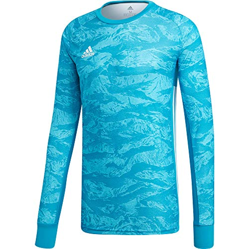 Graphic Jersey Goalkeeping (adidas Kids ADIPRO 19 Goalkeeper Jersey Junior GK Shirt Aqua Blue for Soccer Goalkeeping)